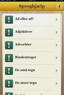 Sproghjælp som app