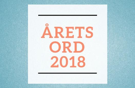 Årets ord 2018