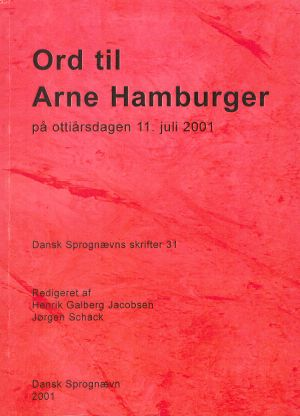 Ord til Arne Hamburger